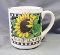 Certified International Susan Winget Sunflower Mugs