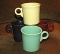 Homer Laughlin Fiesta Multicolor Mug Sets
