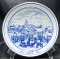 Hutschenreuther Germany Christmas Market 1985 Plate