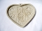 Pampered Chef Family Heritage Hospitality Heart Cookie Mold