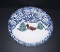 Tienshan Cabin In The Snow Round Platter