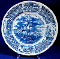 Alfred Meakin Fair Winds Friendship of Salem Dinner Plate Blue