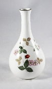 Wedgwood Wild Strawberry Bone China Bud Vase