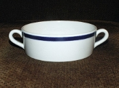 Sterling China American Airlines First Class Cream Soup Bowls
