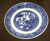 Royal China Company Willow Blue Side Plates