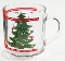 Waechtersbach Christmas Tree Glass Mugs