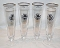 Warsteiner Tall Footed Pilsner Beer Glasses