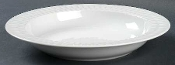 Block Spal Azores White Rimmed Soup Bowls