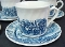 Churchill Royal Wessex Royal Mail Coaching Scenes Cup Saucer Set