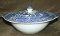 Johnson Brothers Antique Willow Blue Covered Vegetable Bowl