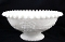 Fayette Viking Vintage Grape White Milk Glass Centerpiece Bowl