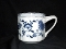 Blue Danube Blue Onion Mugs