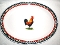 International China Timberlake Ella's Rooster Platter