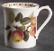 Queen's England Horticultural Society Hooker's Fruit Apple Mugs