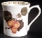 Queen's England Horticultural Society Hooker's Fruit Apricot Mug