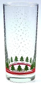 Libbey Christmas Tree Tall Tumblers