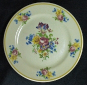 Sterling China Colonial Dresden Restaurant Dinner Plates
