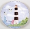 Thompson Pottery Lighthouse Salad Plates