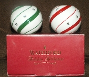 Waterford Holiday Heirloom Sugar Plum Candy Votive Set