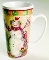 Certified International Susan Winget Country Snowman Latte Mugs