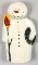 Certified Int Mary Beth Baxter Twilight Snowman Spoon Rest
