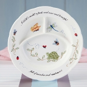 Lenox Butterfly Meadow Baby Divided Plates