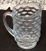 Colony Glass American Whitehall Clear Water Pitcher