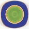Dansk Caribe Dominican Green Salad Plates