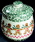 Tienshan Folkcraft Gingerbread Cookie Jar