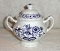 Meakin Nordic Blue Onion Sugar Bowl