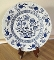 Meakin Nordic Blue Onion Dinner Plates