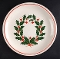 Taylor Smith & Taylor Holiday Wreath Serving Platter