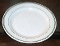 Homer Laughlin Green Stripe Restuarant Ware Dinner Plates