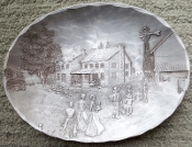 Wendell August Gathering Large Oval Bowl
