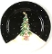 Certified Int Becca Barton Midnight Tree Platter Charger