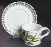 Portmeirion Botanic Garden Yellow Jasmine Drum Cup Saucer Set